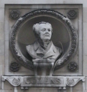 Bust of John Robert Cozens