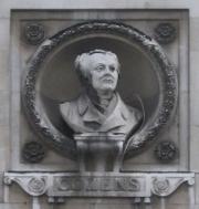 Bust of John Robert Cozens
